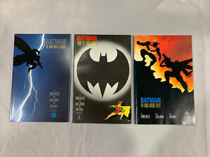 Batman The Dark Knight Returns #1 3 4 1986 Frank Miller Comics