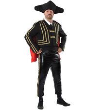 Para Hombre Disfraz Adulto Español Matador Bull Fighter Bull Fighter Vestido de fantasía Traje