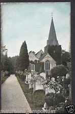 Buckinghamshire Postcard - Stoke Poges Church Near Slough   RS973