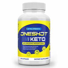 Keto OneShot OFFICIAL Weight Loss Pills Supplement Keto Diet Pills Fat Burner