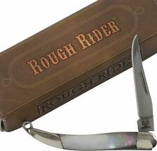 Rough Rider Black Pearl Handles Mini Toothpick Pocket Knife RR978