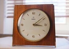 Junghans Tischuhr Gong Schlagwerk Mid Century ähnlich Bauhaus Uhrwerk 274/210