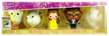 San Diego Comic Con 2017  SDCC Beauty And The Beast Foam Keychain 5 PCs Set