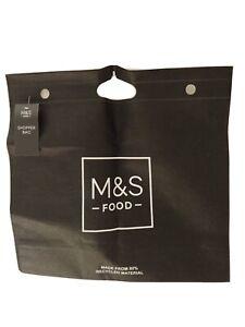 M&S Marks & Spencer Reusable Womens Shopping Bag Shopper Handles Tote Beach Bags