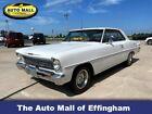 1966 Chevrolet Nova  1966 Chevrolet Nova Base 56,661 Miles Pearl White American Muscle Car Select Aut  for sale