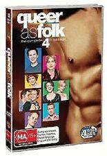 Queer As Folk (U.S.) : Season 4 (DVD, 2016, 4-Disc Set) R4