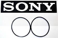 Sony CDP-M333ES 400  CD Changer Player 2 Belt Set Carousel & CD Loading Belts