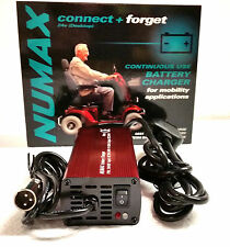NUMAX 24V 4A Automatic intelligent Battery Charger Mobility Scooter & Wheelchair