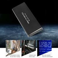 YouN Festplattengehäuse SSD M.2 NGFF zu USB3.0 Adapter Externes SATA SSD HDD