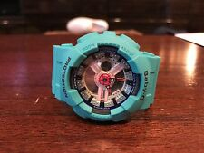 NEW Casio G-Shock Baby G Teal Green BA-110SN Womens Ladies Watch One Size