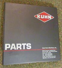 Kuhn Farm Machinery Parts Information Catalog (2005)