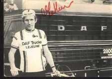 ROBERT MINTKEWICZ DAF LEJEUNE Trucks Autographe cycling cyclisme cycliste signée