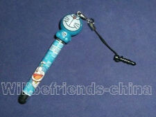 Doraemon Mobile Phone Charm Touch Screen Stylus Pen Jack Dust-proof Plug Stopper