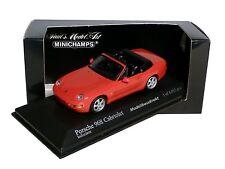 PORSCHE 968 CABRIO IN ROSSO BJ 1994 1:43 Minichamps 400062330 NUOVO & OVP
