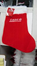 Case IH Plush Christmas Stocking