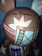 "Disney Vinylmation New York NYC 9"" Bridges Mickey Times Sq SIGNED Oskar Mendez"