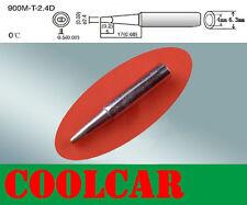 SOLDER SOLDERING IRON STATION Tip 900M-T-2.4D Rework Lead Free Hakko 907 936 OZ