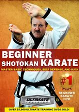 Beginner Shotokan Karate: Techniques, Self Defense, & Katas  - New DVD!
