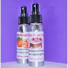 Hair & Body Oil Spray Perfume (Choose Your Scent) PARABEN FREE 2.5oz