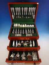 King Richard by Towle Sterling Silver Flatware Set For 24 Service 157 Pcs Huge!!