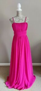 VINTAGE FRENCH 1990s MAXI DRESS BALL GOWN PROM DRESS CURRENT SIZE 8