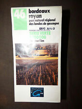Carte IGN verte 46 bordeaux royan  1992