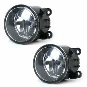 2pcs Drive Side Fog Light Lamp + H11 Bulbs 55w Right & Left Side Car Accessories