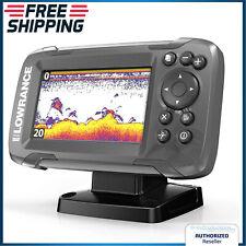Fish Finder Transducer GPS Plotter 2-in-1 Sonar Bullet Skimmer Fishing Portable