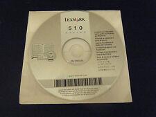 Lexmark 510 Series Printer Driver Software Disc (PC & MAC, 2004)