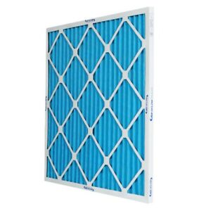 16x25x1 MERV 10 Pleated Home A/C Furnace Air Filter (12-pack)