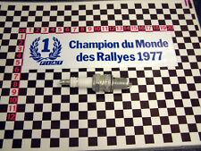 Fiat WRC Sticker 1977 131 127 126 X19 X-19 128 124 Aufkleber κόλλημα Autocollant