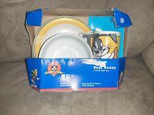 Vintage Bugs Bunny 3 Piece Kids Set, Mug, Bowl, Plate