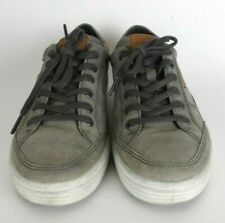 ECCO Soft 7 Danish Design Mens Size 40 US 6- 6.5 Olive Green Suede Sneakers