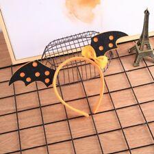 2018 Glitter Bat Headband Deeley Boppers Fancy Dress Halloween Hair Accessories
