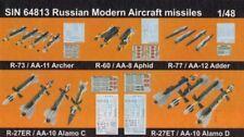 Eduard Bigsin 64813 1/48 Soviético Modernos Avión Misiles