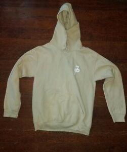 Gildan Youth Hooded Sweatshirt Blank Hoodie Heavy Blend Tan sz Youth small