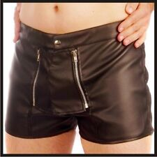 Herren Pants Hose Shorts Kunst LEDER S M L XL 2XL 3XL 4XL Boxer Short