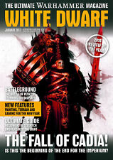 WHITE DWARF GENNAIO 2017-WARHAMMER 40K-GAMES WORKSHOP-MAGAZINE