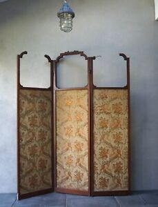 Antique Room Screen Divider 19th Century  - Delivery Available
