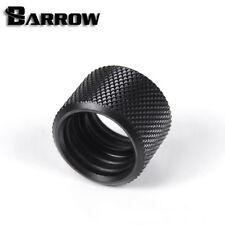 """Barrow G1/4"""" Mate Negro Dual Empuje de montaje para tubos de rígido 16mm extender - 50"""