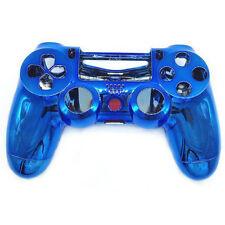 Coque de Remplacement Manette PS4 Sans Fil Console de jeu / PVC Rigide / Bleu