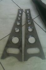 68-73 Ford Mustang / falcon dimple front lower control arm gussets
