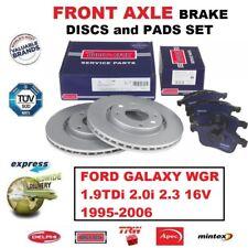 Para Ford Galaxy WGR 1.9TDi 2.0 2.3 1995-2006 Eje Delantero Pastillas de Freno +