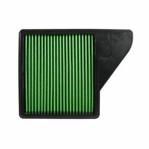 Green Filter High Performance Air Filter for 10-14 Mustang GT / Mustang # 7075