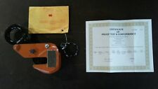 NEW!!! Plate lifting  clamp RENFROE model M 1/2 ton,  0 to 1 inch, plate clamp.