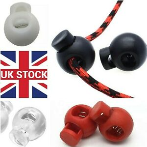 Metal spring plastic end stopper 5mm & 8mm cord locks end toggles for face mask