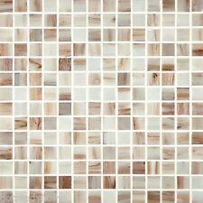 10SF Natural White Iridescent Mosaic Tile kitchen backsplash wall bathroom sink