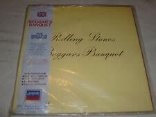 THE ROLLING STONES RECORD BEGGARS BANQUET JAPAN IMPORT RARE ALBUM VINYL LP 1019