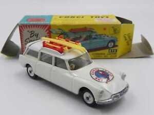Corgi Toys 475 Citroen ID Safari Ski Club in scatola w/box vintage DS break