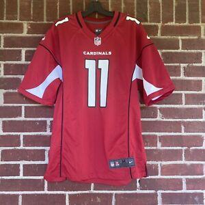 Nike NFL Cardinals Larry Fitzgerald Men Medium Red Black Jersery